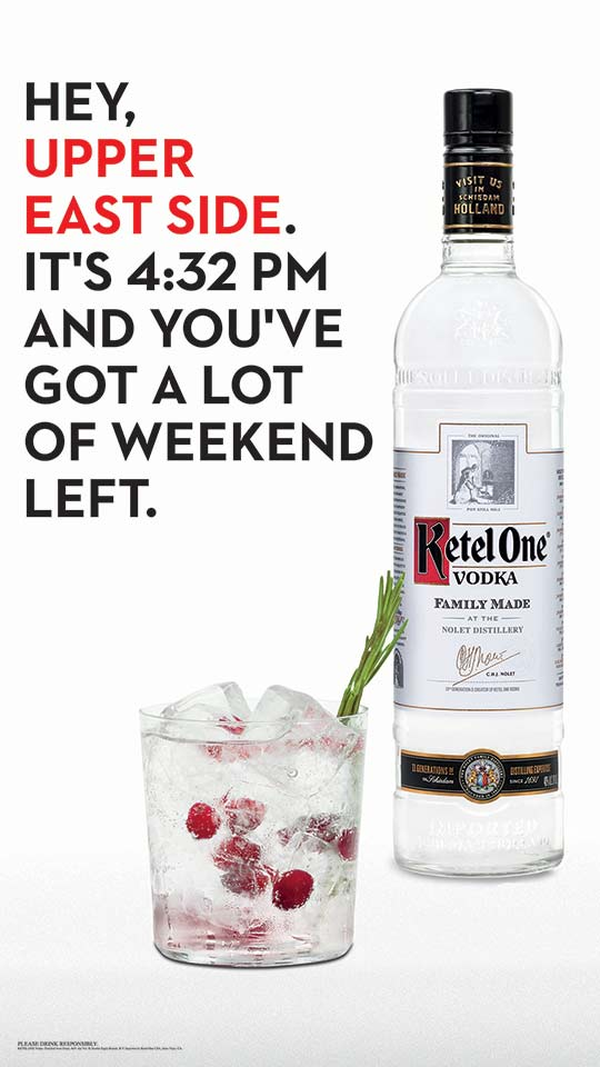 Ketel One D6 poster - location Dynamic