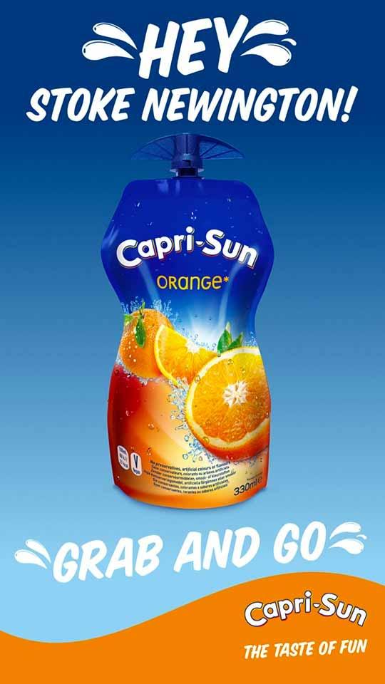 Capri-Sun Summer D6 poster - location Dynamic