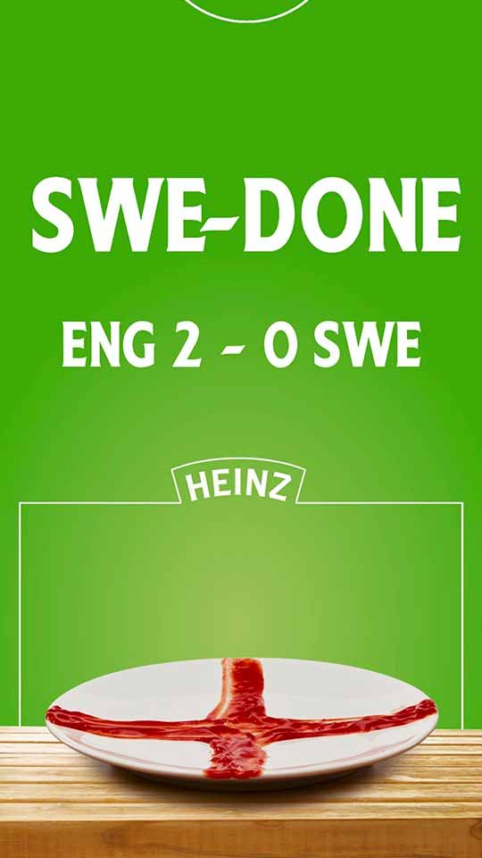 Heinz World Cup D6 poster - scores Dynamic